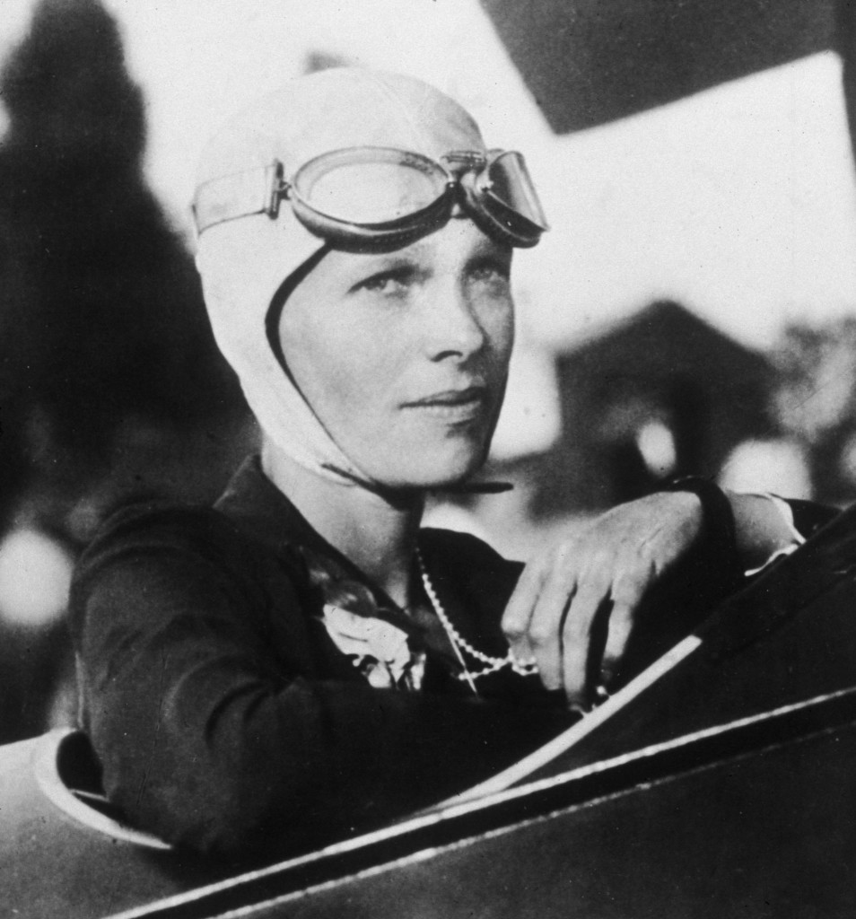 Amerykańska pilotka Amelia Earhart