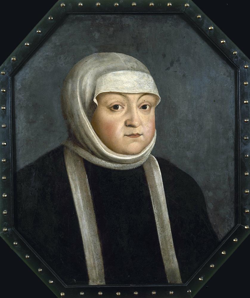 Portret królowej Bony