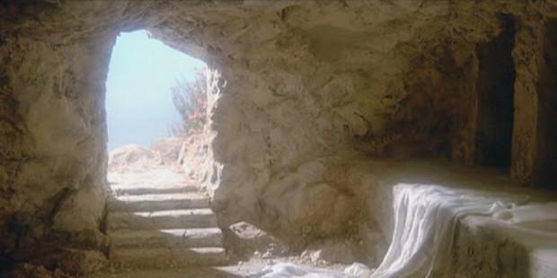 CAŁUN W GROBIE JEZUSA