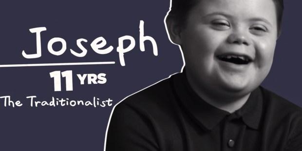 JOSEPH DALE, MODEL Z ZESPOŁEM DOWNA
