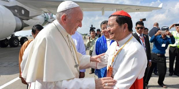 POPE FRANCIS,MYANMAR
