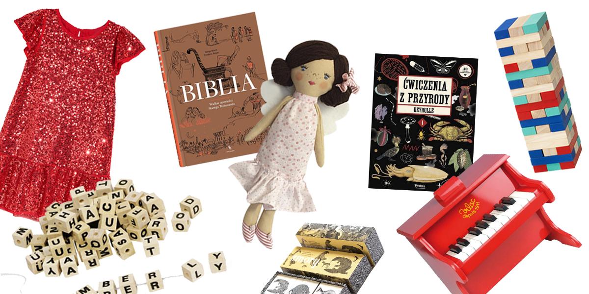 Zabawki dla dzieci na prezenty świąteczne