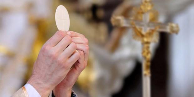 Hostie, eucharistie