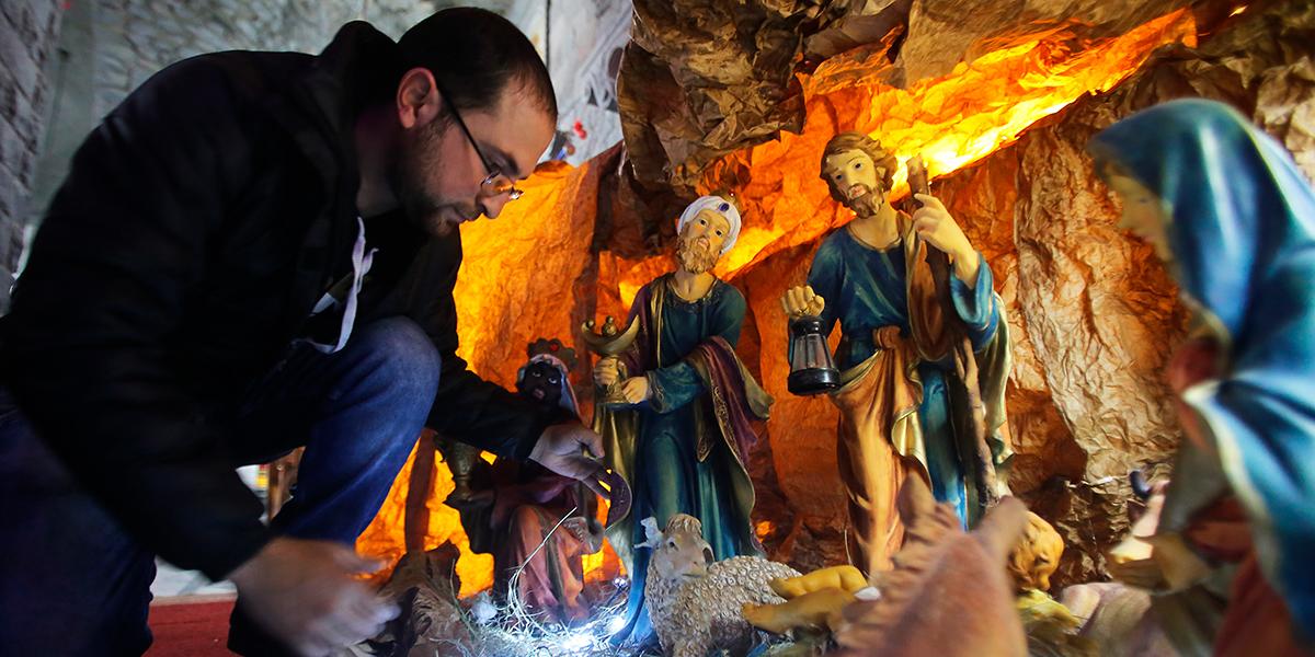 SYRIA,CHRISTMAS
