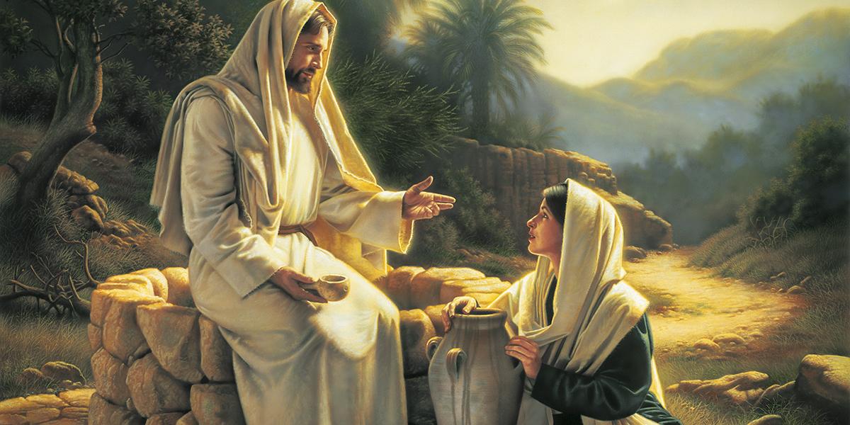 Jesus and the Samaritan woman