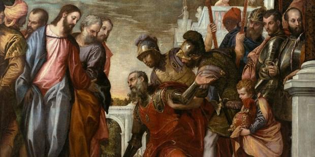 PAWEŁ Z WERONY, JEZUS UZDRAWIA SŁUGĘ SETNIKA