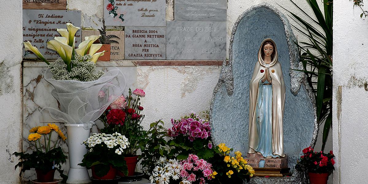FIGURA MARYI Z MONTICHIARI, GODZINA ŁASKI