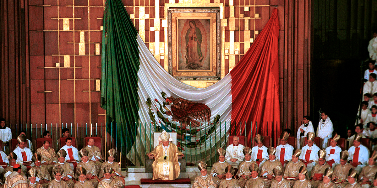 OUR LADY OF GUADALUPE,SAINT JOHN PAUL