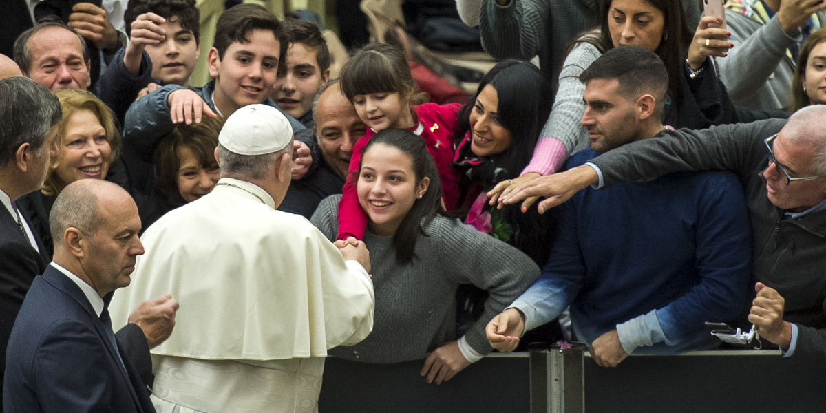 Audience Pope Francis