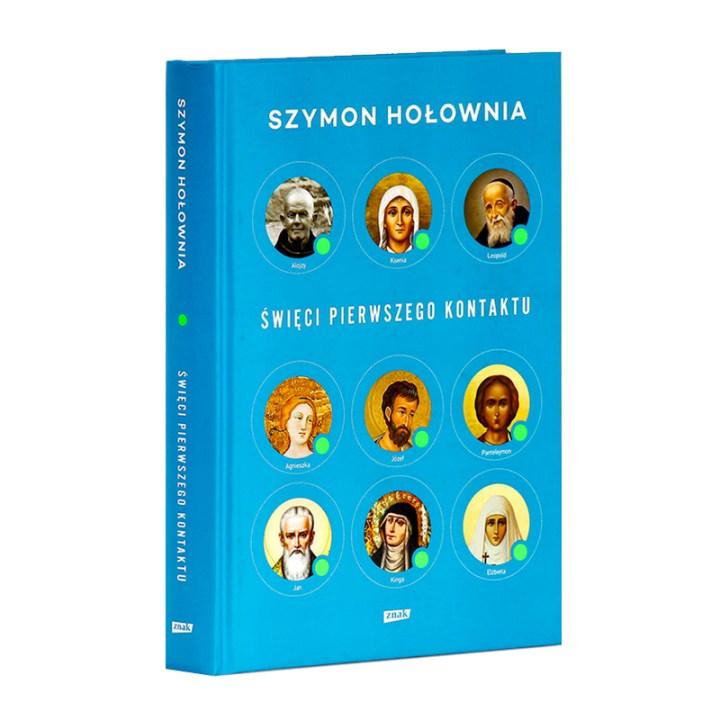 Książka Szymona Hołowni Święci pierwszego kontaktu