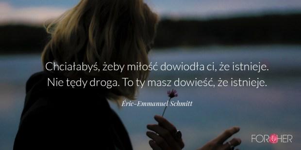 Cytat Éric-Emmanuel Schmitt