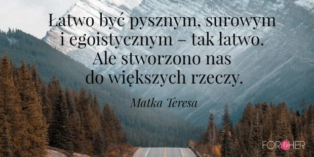 Cytat Matka Teresa