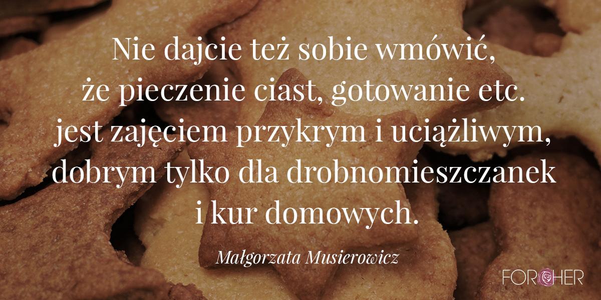 Cytat z Małgorzaty Musierowicz