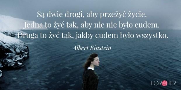 Cytat Albert Einstein
