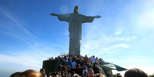 STATUA JEZUSA W RIO DE JANEIRO