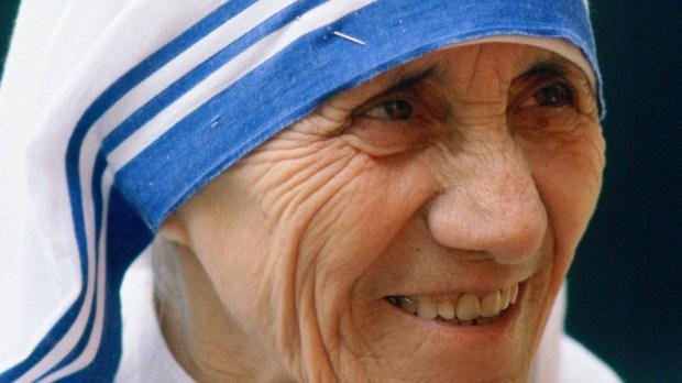Portret świętej Matki Teresy z Kalkuty