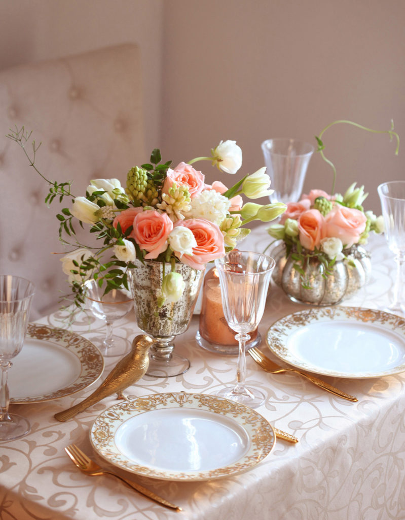Nakrycie stołu weselnego