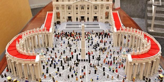 St. Peter's Basilica LEGO