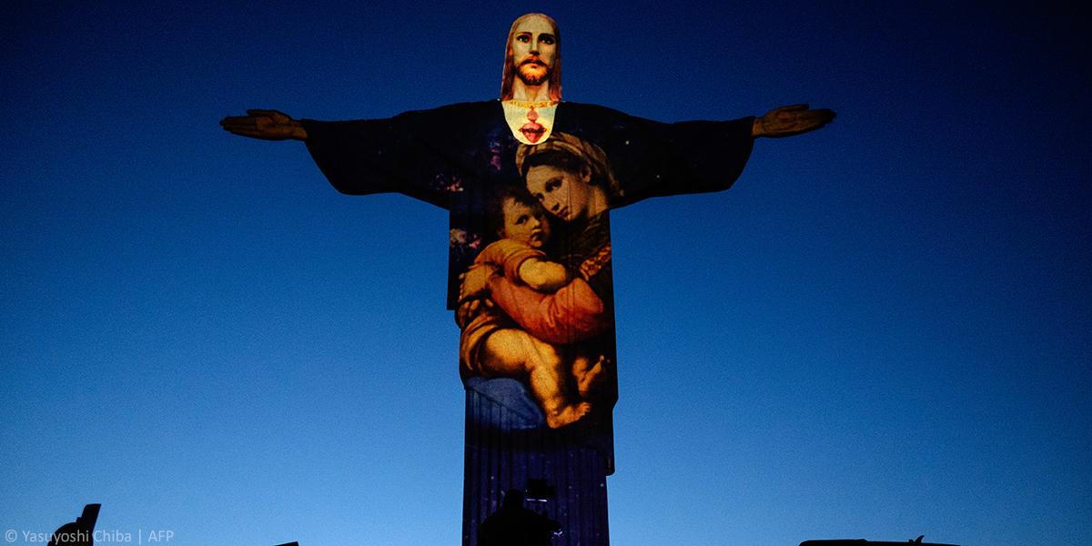 CHRIST THE REDEEMER,RIO,BRAZIL