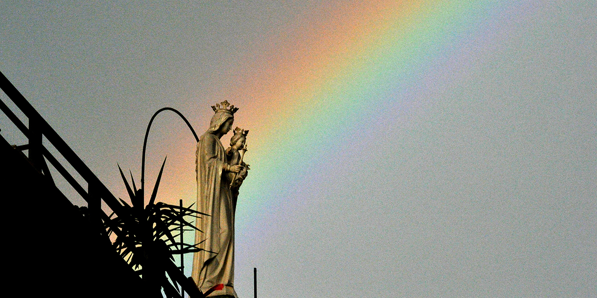 RAINBOW,VIRGIN MARY