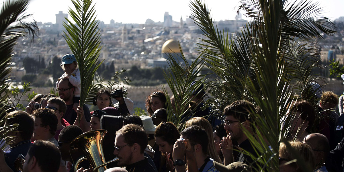 NIEDZIELA PALMOWA W JEROZOLIMIE