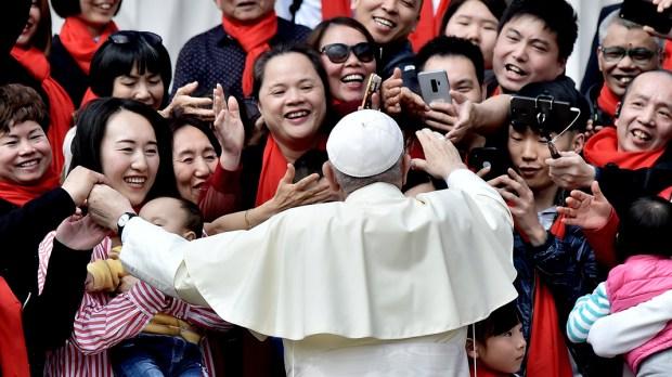 CHINA,POPE FRANCIS