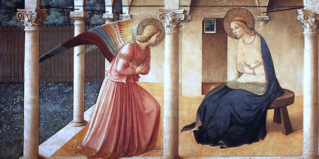 ANGELICO, Fra Annunciation
