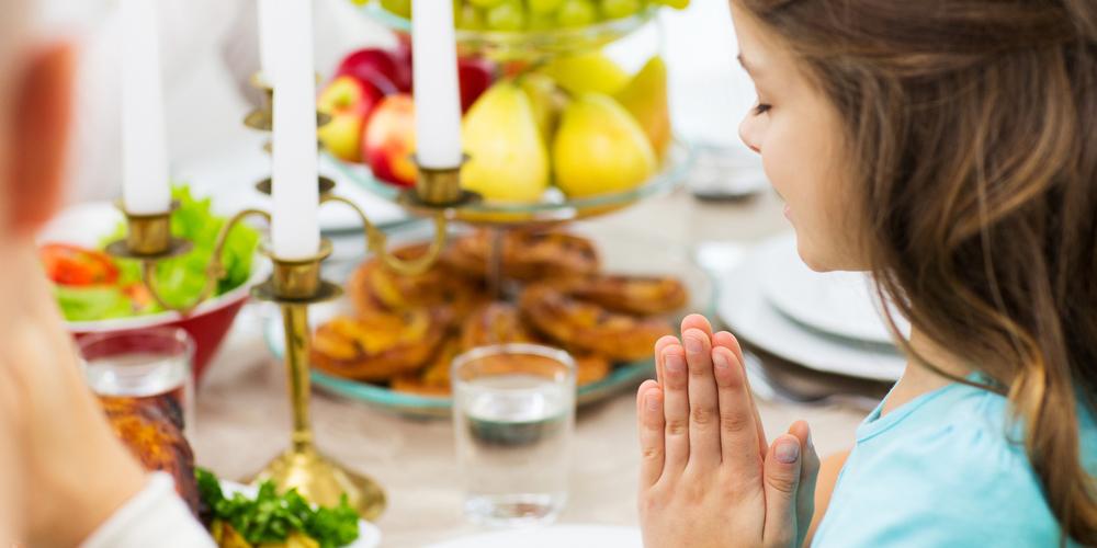 GIRL PRAY