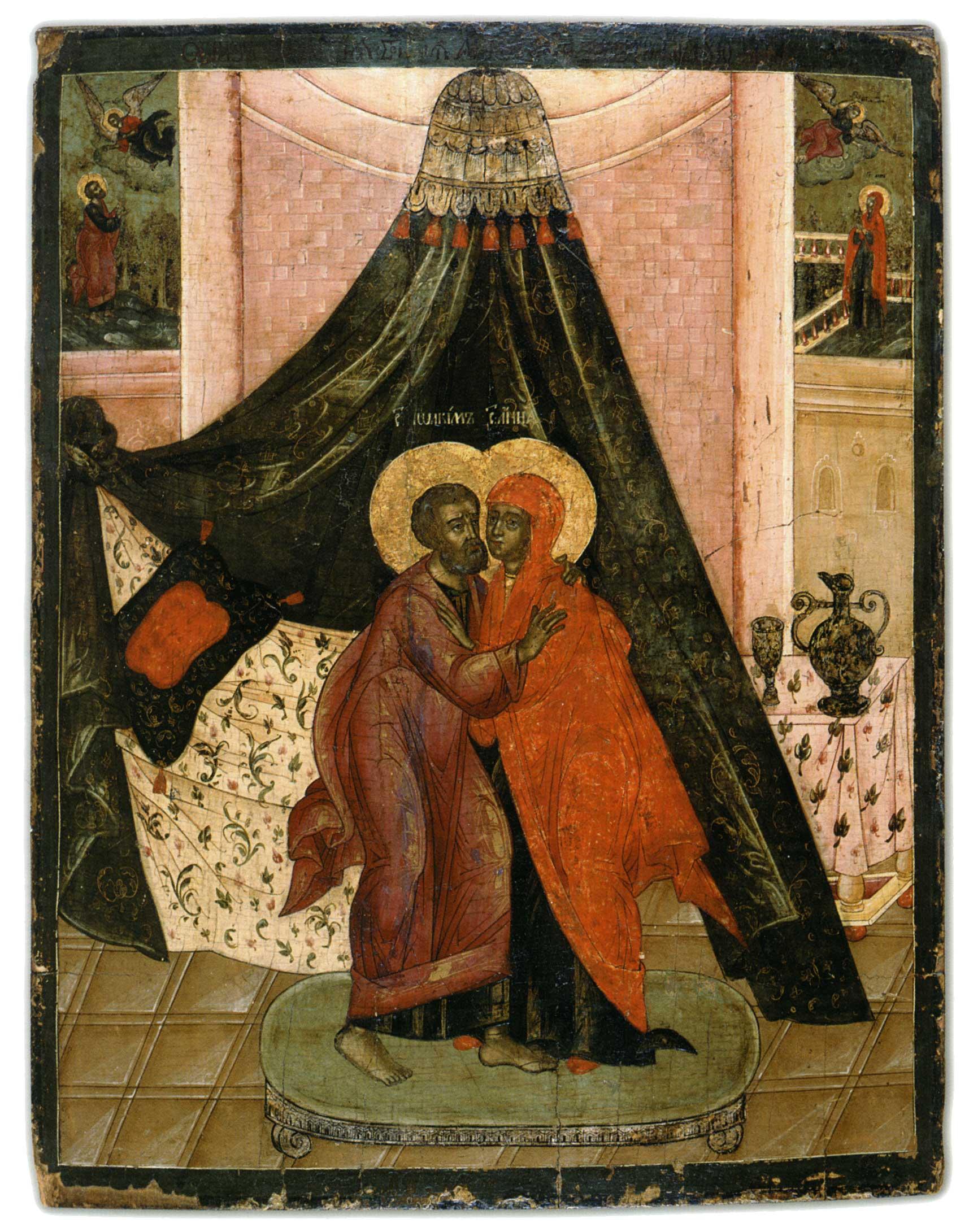 POCAŁUNEK JOACHIMA I ANNY
