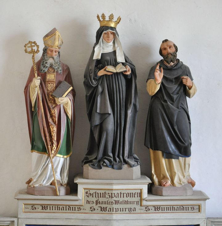 Sts. Willibald, Winebald, and Walburga