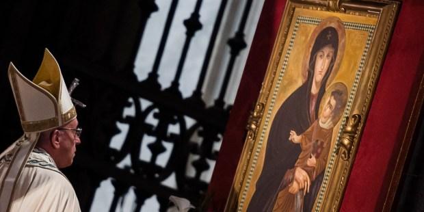 POPE FRANCIS SALUS POPULI ROMANI ICON