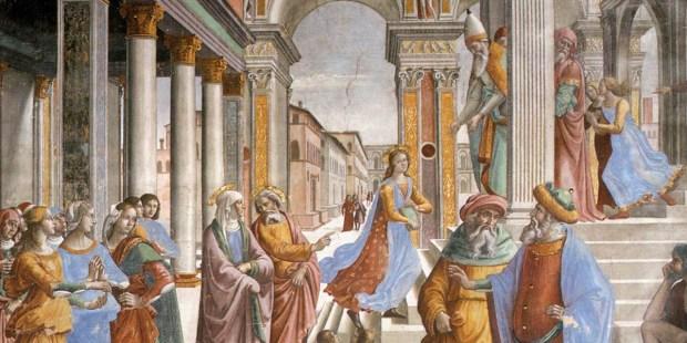 OFIAROWANIE MARYI W SZTUCE