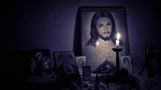 JESUS,CANDLE