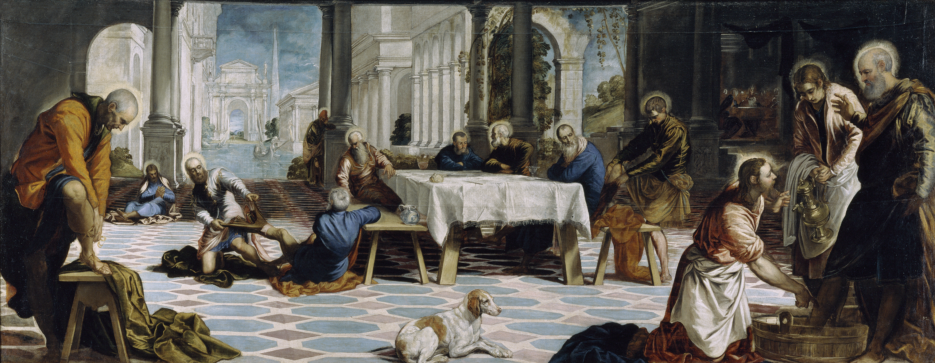 TINTORETTO WASHING OF THE FEET