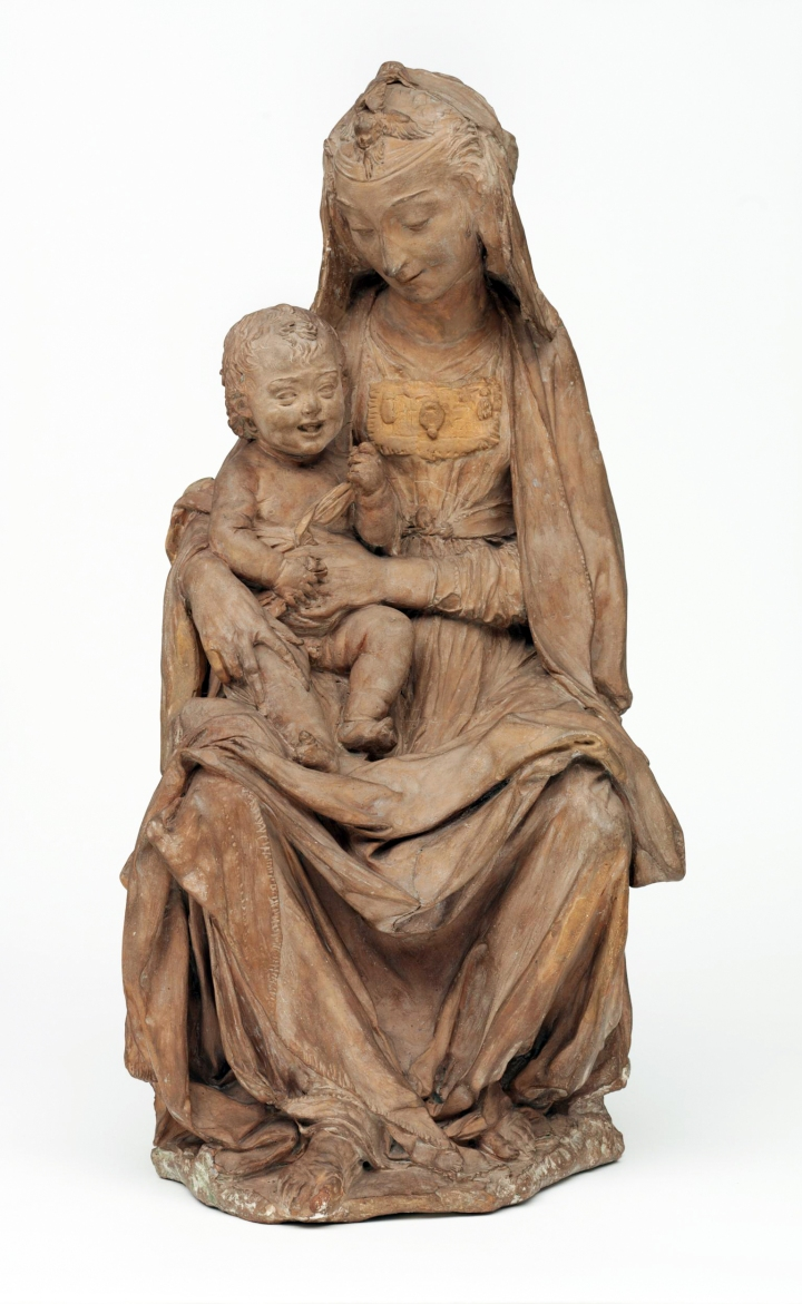 Virgin Mary WITH LAUGHING CHILD