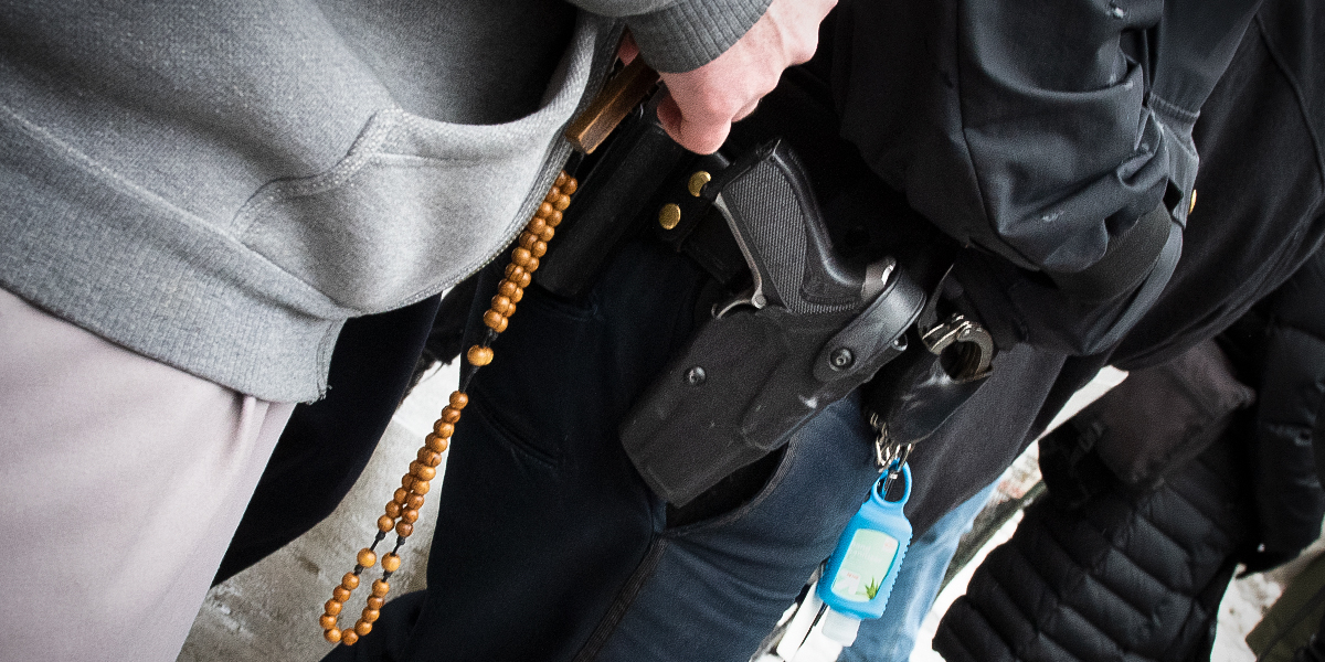 ROSARY,GUN,NEW YORK,NYPD