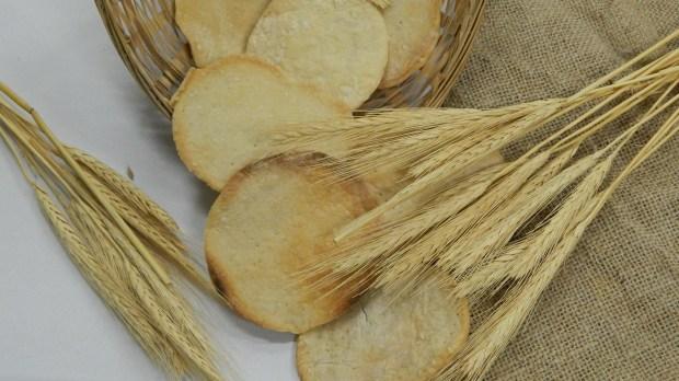 Chleby i kłosy zboża