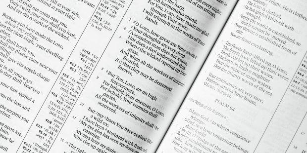 Zbliżenie na Pismo Święte
