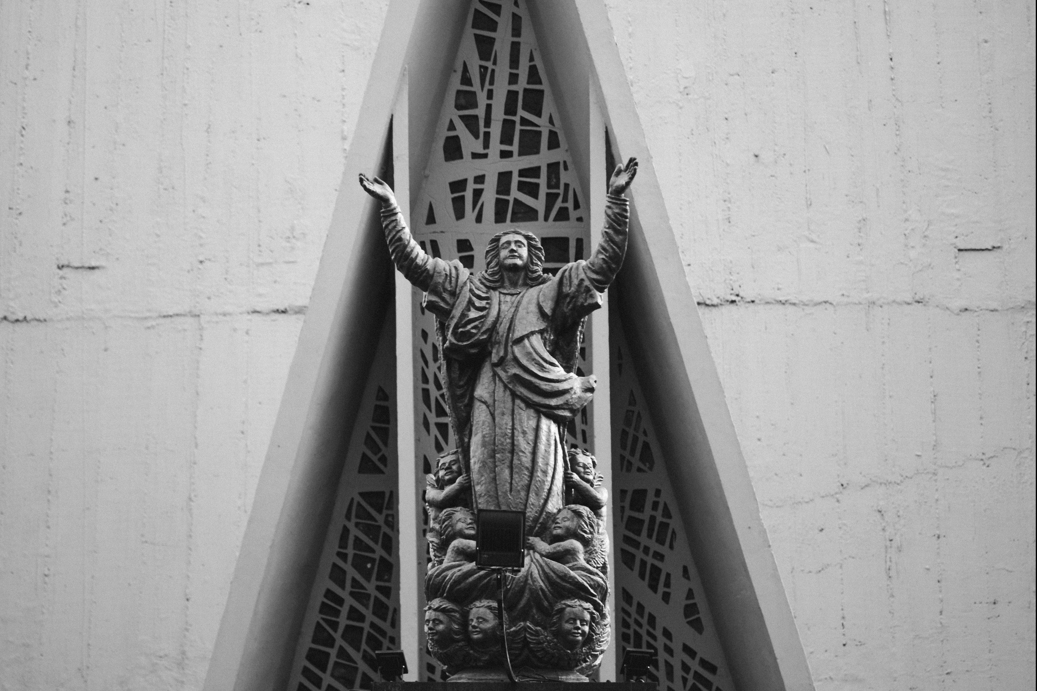 Posąg anioła