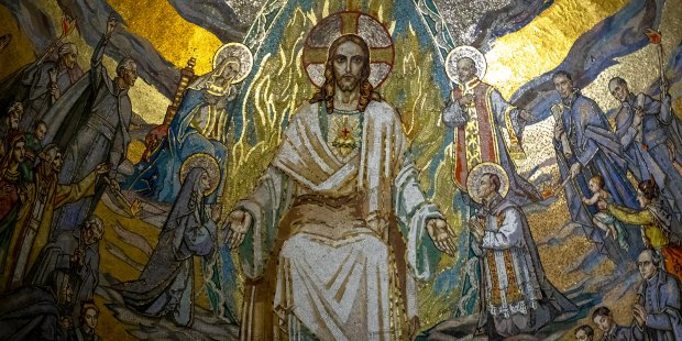 Jezus mozaika
