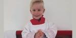 menino Lázaro curado câncer