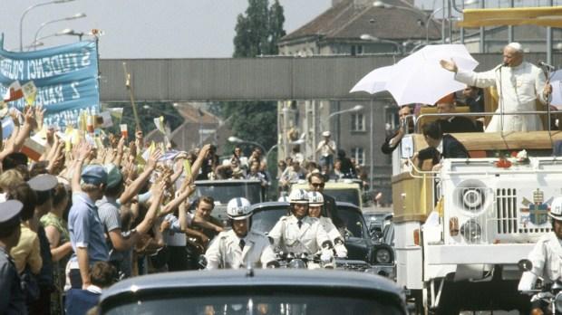 PAPIEŻ JAN PAWEŁ II W WARSZAWIE, 1979