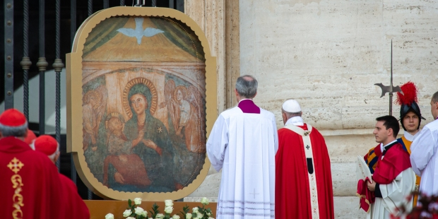 POPE PENTECOST VIGIL HOLY MASS