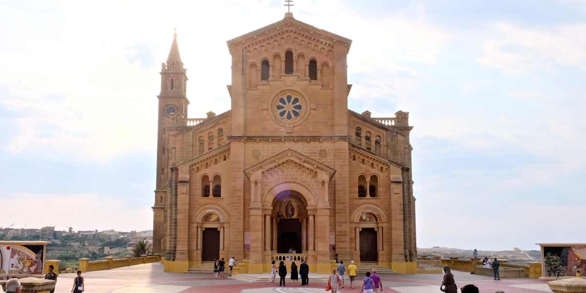 Malta; Shrine of Our Lady of Ta' Pinu, Gozo