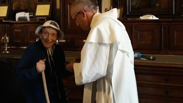 Emma Morosini, 95-letnia pątniczka dotarła na Jasną Górę