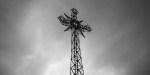 Metal cross of Giewont peak, Tatry