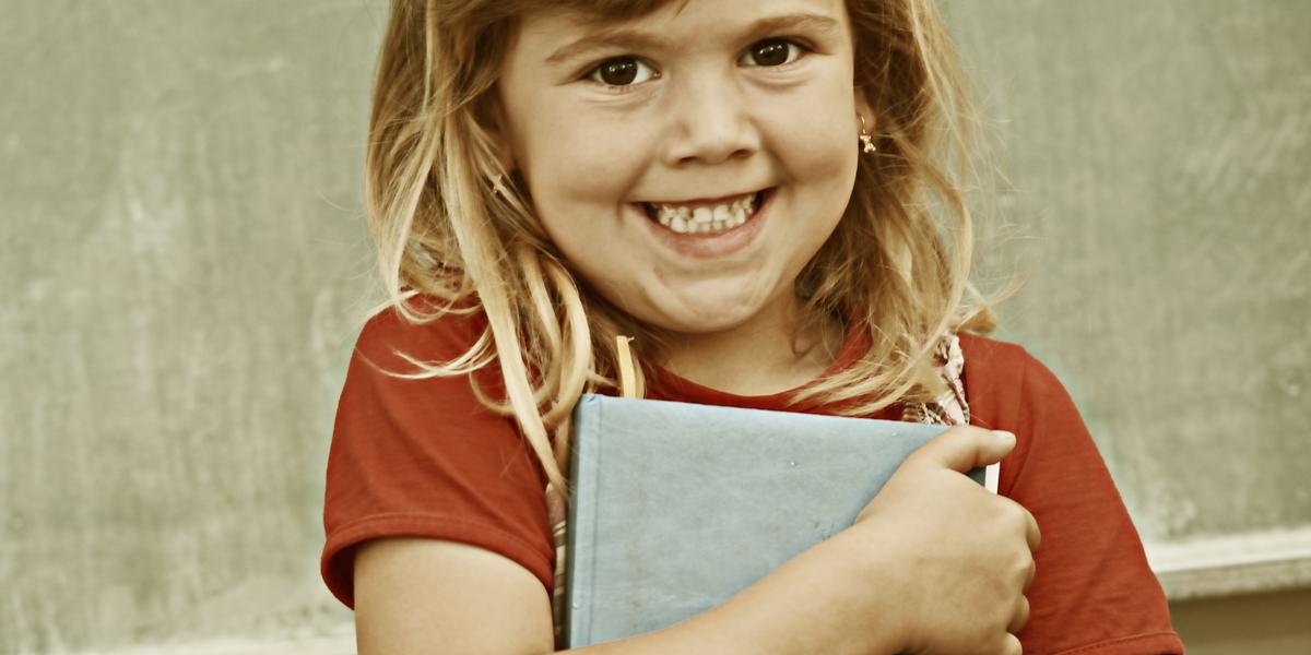 GIRL, SCHOOL, SMILE