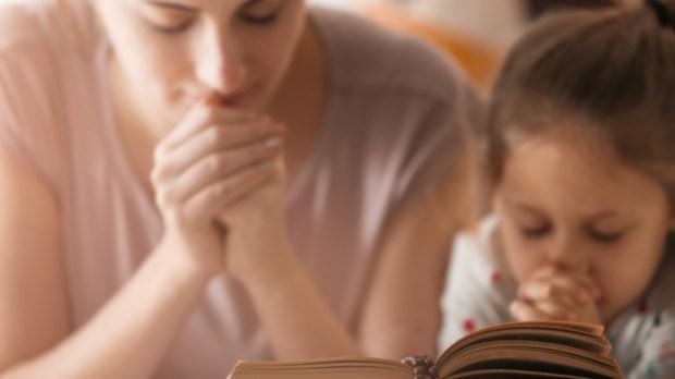 MUM, PRAY, DAUGHTER