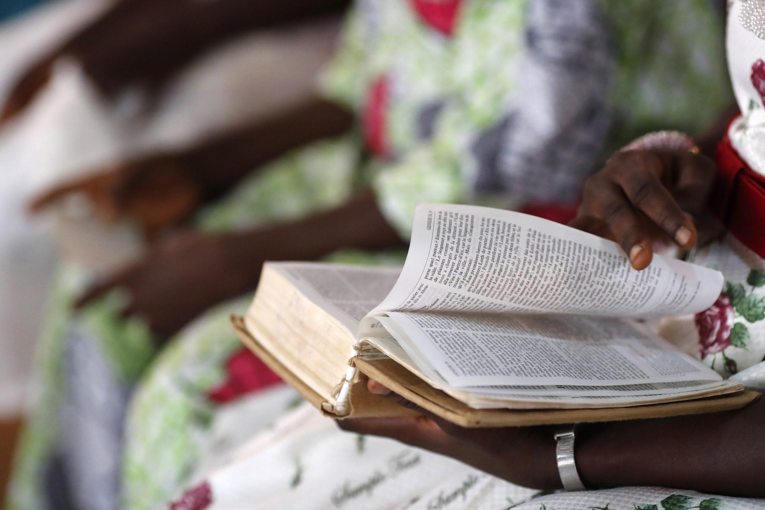 Messe dans une église togolaise