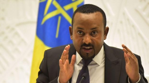 ABIY AHMED, MINISTER ETIOPII
